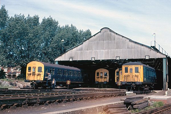 Durnsford Road Depot, shed roads 1-4